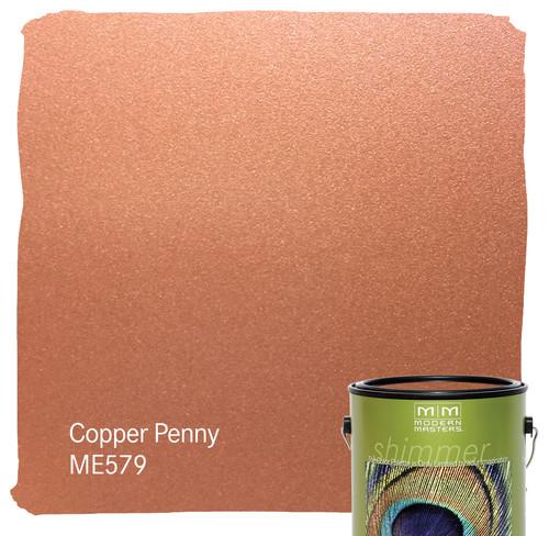 Is The Me579 Copper Metallic Paint Exterior