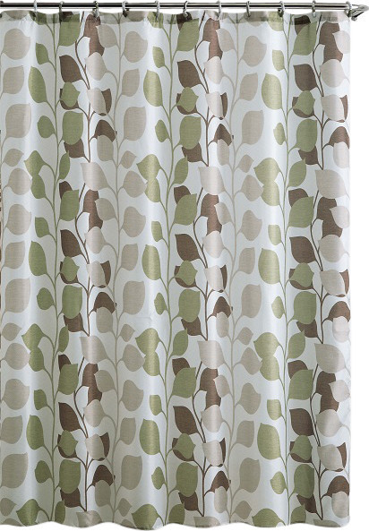 Green Curtains chocolate and green curtains : Gray Green Curtains - Rooms