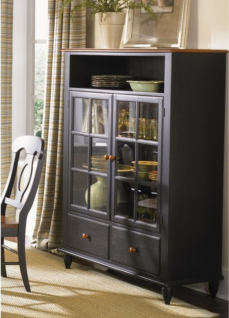 Liberty Furniture Low Country Black Curio Cabinet - 80-CH4460 - Contemporary - China Cabinets ...