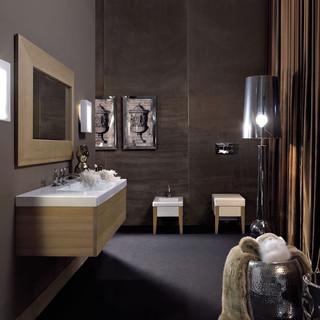 Bentley 31 5 X 19 7 Bathroom Vanity With Drawer Contemporary Bathroom Sinks