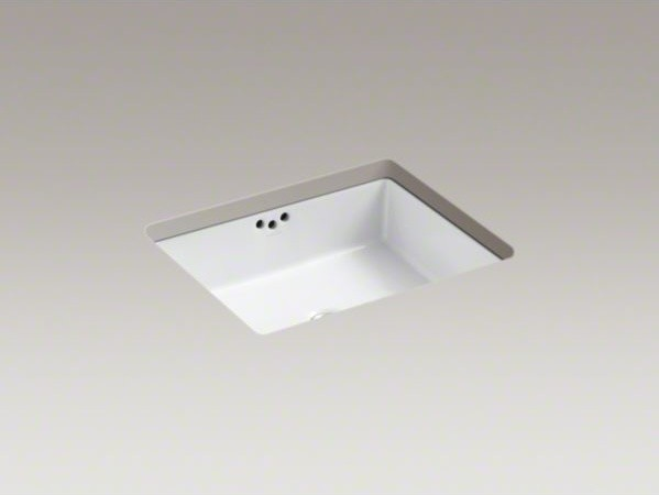 Kohler Kathryn R 19 3 4 X 15 5 8 X 6 1 4 Undermount Bathroom Sink Contemporary Bathroom