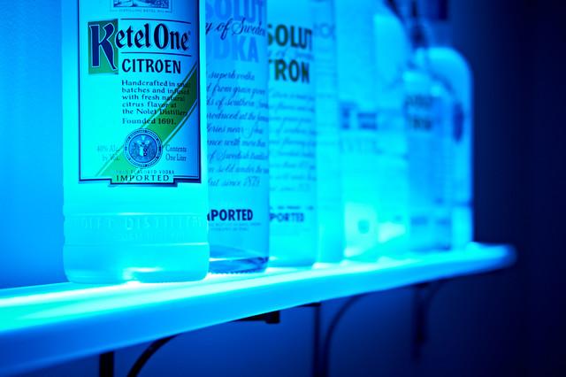 2 Tier Led Liquor Shelf Display besides 2 Tier Led Liquor Shelf Display in addition Watch also Costco Under Cabi  Lighting additionally For The Bar. on liquor shelves for led light strips