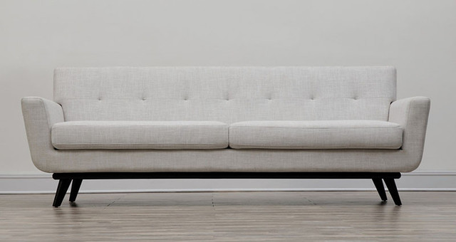 Queen mary beige linen sofa midcentury chaise longue for Chaise longue tours