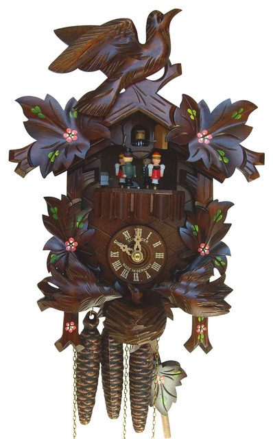 1 Day 9 1 In Black Forest House Cuckoo Clock Contemporary Cuckoo Clocks By Shopladder