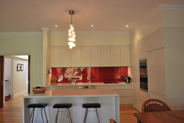 1920 39 s bungalow renovation balgowlah sydney for Modern 1920 s kitchen