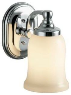 KOHLER K-11421-CP Bancroft Single Sconce - Contemporary - Bathroom Vanity Lighting - by ...