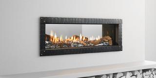MEZZO See-Through Gas Fireplace