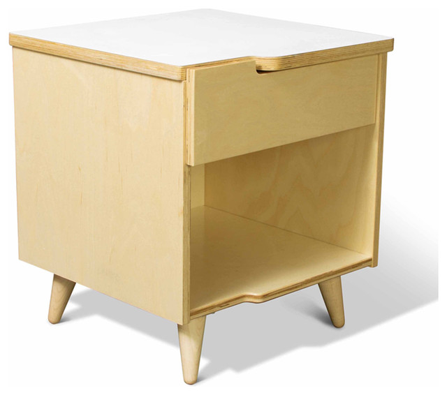 Modern Bedside Table : ... - Modern - Nightstands And Bedside Tables - los angeles - by Viesso