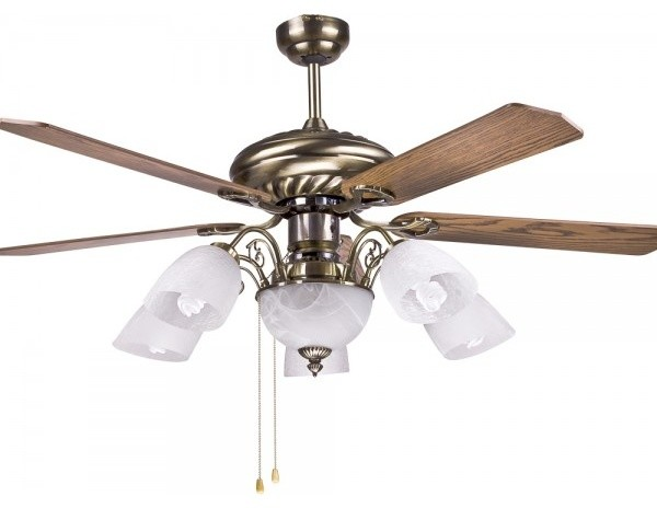 Traditional Large Decorative Ceiling Fan Lamp