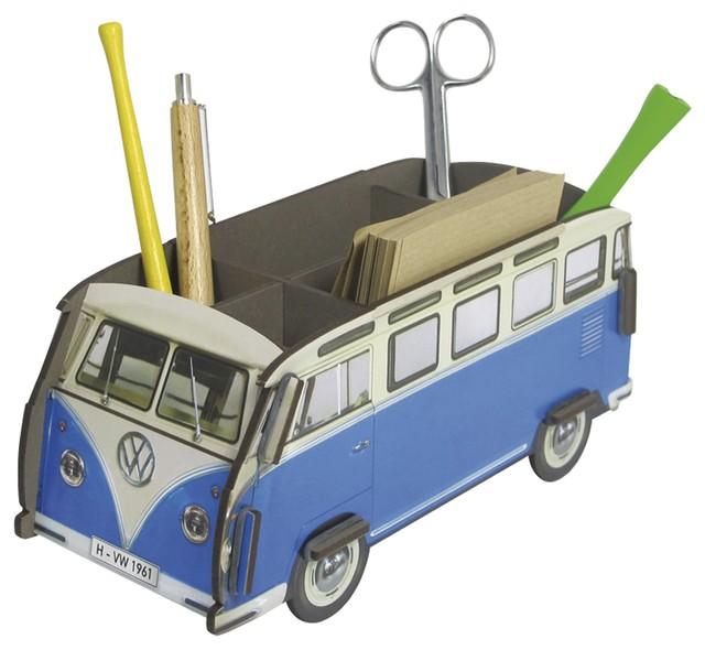 stiftebox vw bus t1 samba bauhaus look schreibtisch. Black Bedroom Furniture Sets. Home Design Ideas