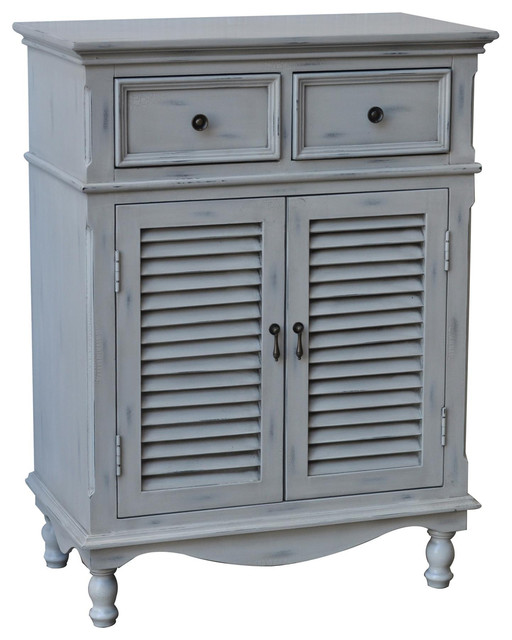Crestview Hampton CVFZR672 2 Door 2 Drawer Cabinet