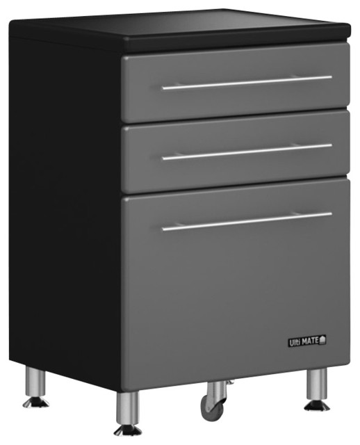 Ulti, MATE 3, Drawer Base Garage Cabinet - Contemporary - Garage And Tool Storage - by Cymax