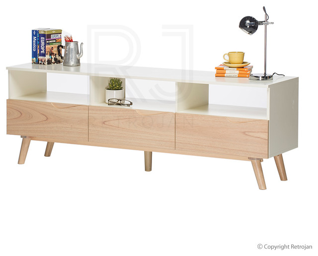 austin scandinavian style av unit contemporary melbourne by
