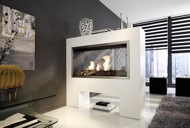 raumteiler wohnzimmer schlafzimmer raumteiler ethanolkamin aspect tkg modern wohnbereich - Schlafzimmer Mit Raumteiler