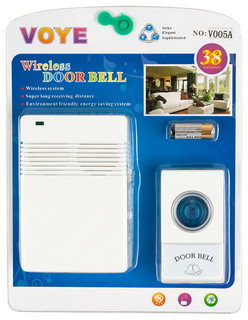 wireless remote 8 chime doorbell contemporary outdoor decor by