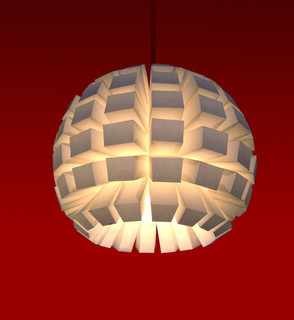 Paper Lightweight Lamp Shade By Bapseflaps Contemporary