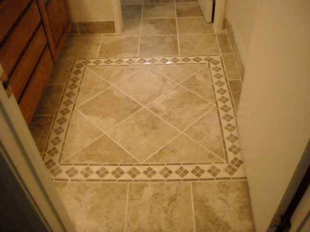 After small bath tile job for Bathroom design jobs
