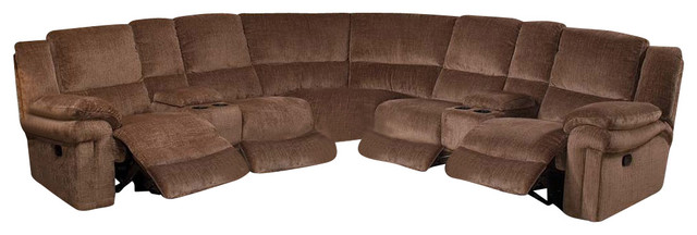 New Classic Covington 3 Piece Power Motion Sectional Sofa
