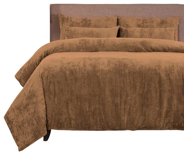 SIS Covers Draper Wheat Duvet Set - 6 Piece California ...