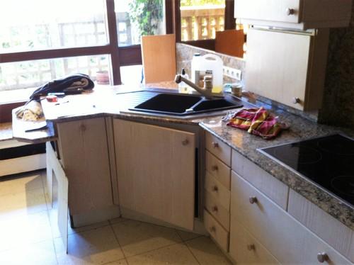 Avant apres cuisine ouverte atypique for Creer une cuisine ouverte