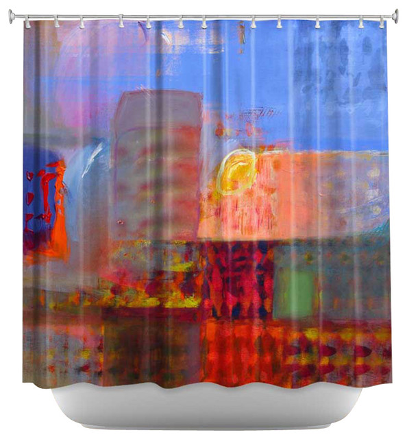 Shower Curtain Unique From Dianoche Designs Luminesence Eclectic Shower Curtains By
