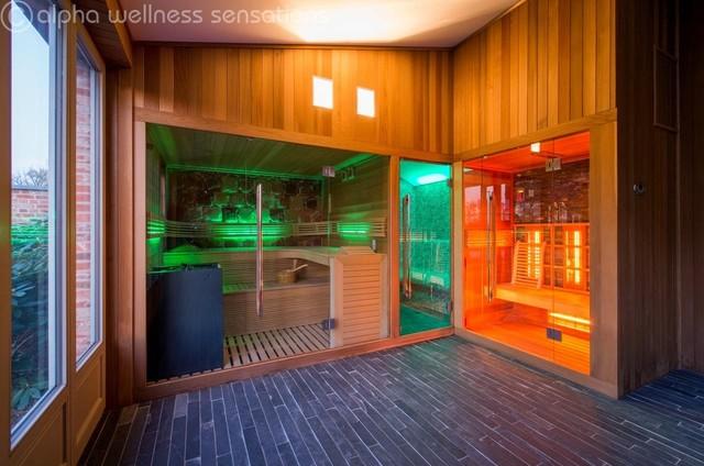 Alpha wellness sensations modern saunas by galaxy for Alpha home interior decoration llc