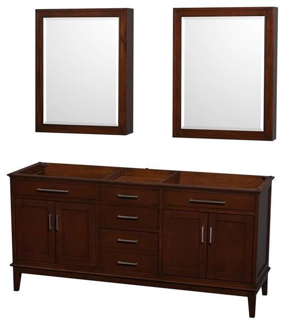 Eco-Friendly Bathroom Vanity with Medicine Cabinets - Transitional - Bathroom Vanities And Sink ...