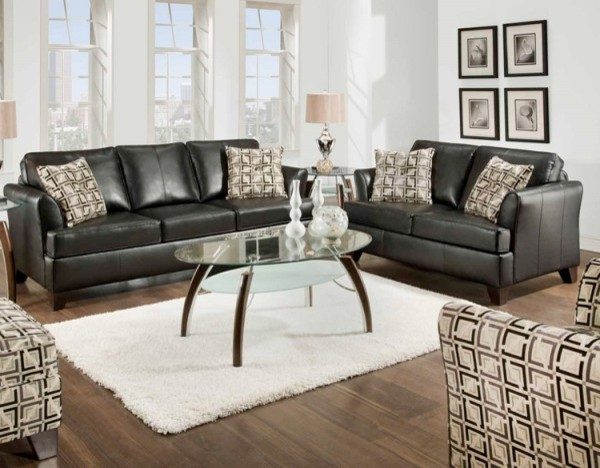 3 Piece Living Room Sofa Set: Urban 3 Piece Twin Sleeper Sofa Set