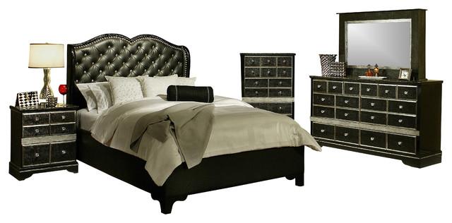 sandberg furniture hollywood glamour upholstered 3 piece