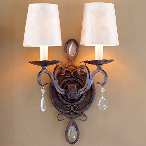 Waldorf 2-Light Sconce - Traditional - Wall Sconces - by Ballard Designs