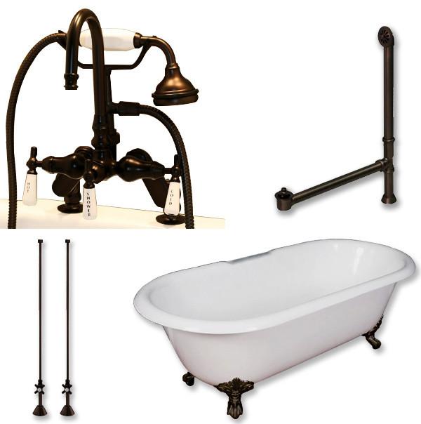 oil rubbed bronze bath tub shower faucet bathtubs kitchen de