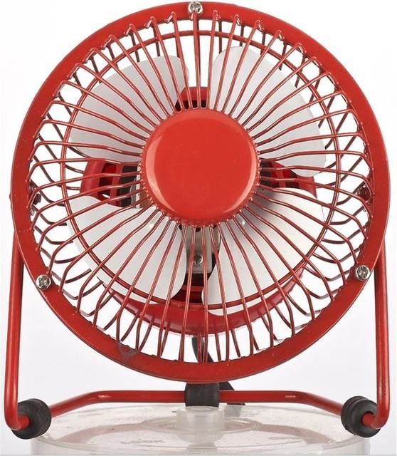 Nexair 10cm Red Desk Fan