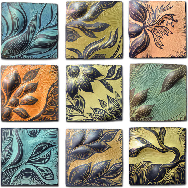 Ceramic Wall Art Tile artwork