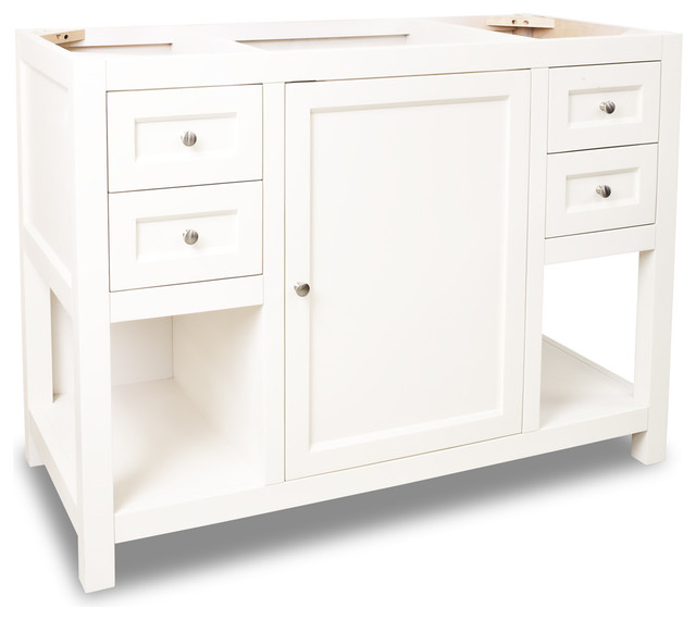 Lyn Design VAN091 48 Without Top Transitional Bathroom Vanities And Sink