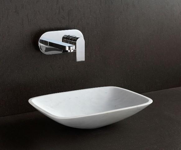 Natural Stone Above Counter Basin Lima Modern Bathroom Sinks Other Metro By Nova Deko