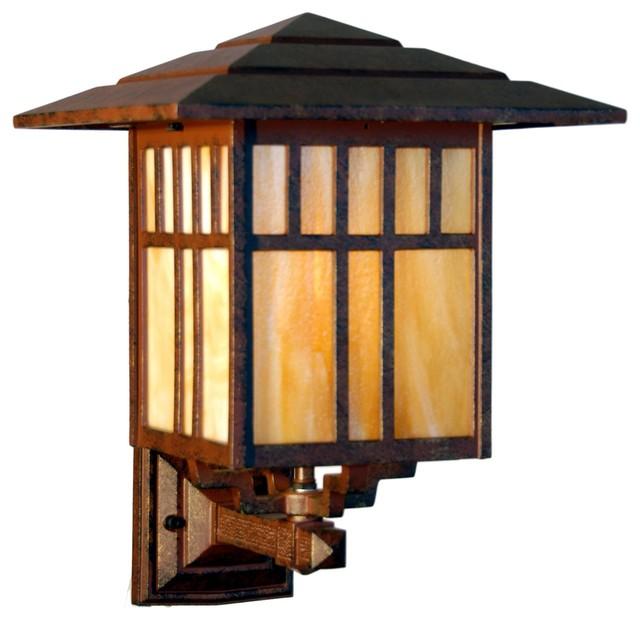 "Outdoor Wall Lamps Online India: Indian Wells Medium 1 Light 9"" Outdoor Wall Light In"