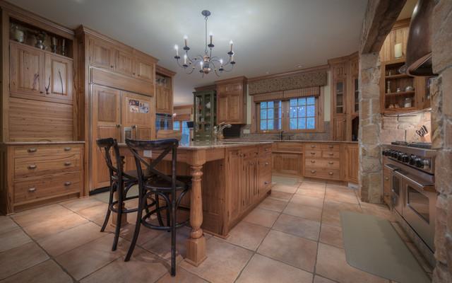 Big thompson canyon craftsman cucina di splittgerber for Cucina in stile ranch