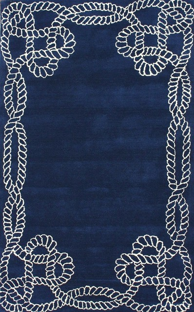 Contemporary modella hallway runner 2 39 8 x10 39 runner royal for Contemporary runner rugs for hallway