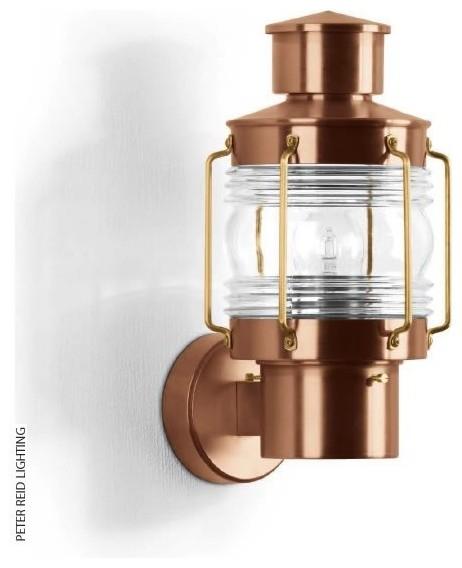 Ships Lantern Wall Lights : BOOM B 1019 Ship s Wall Lantern transitional-outdoor-wall-lights-and-sconces
