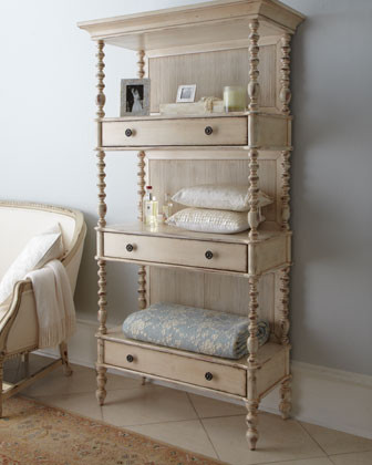 Summerville etagere traditional storage and for Small bathroom etagere