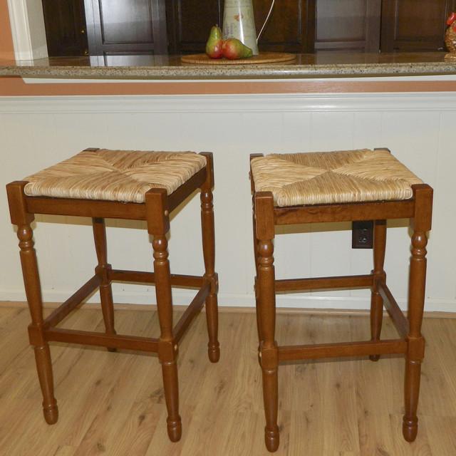 30 inch walnut morgan bar stool  contemporary  bar