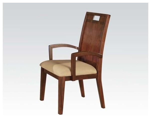 Donovan Arm Chair in Walnut Contemporary Dining Chairs  : contemporary dining chairs from www.houzz.com.au size 605 x 476 jpeg 28kB