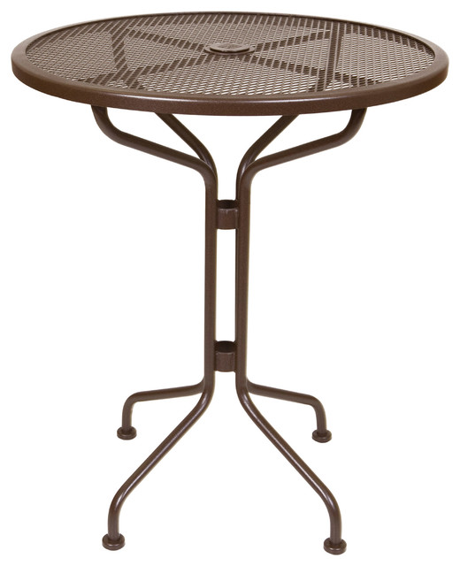 Bistro Mesh Counter Table Eclectic Outdoor Pub And Bistro Tables milwau