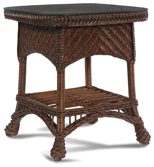 rattan end tables 2