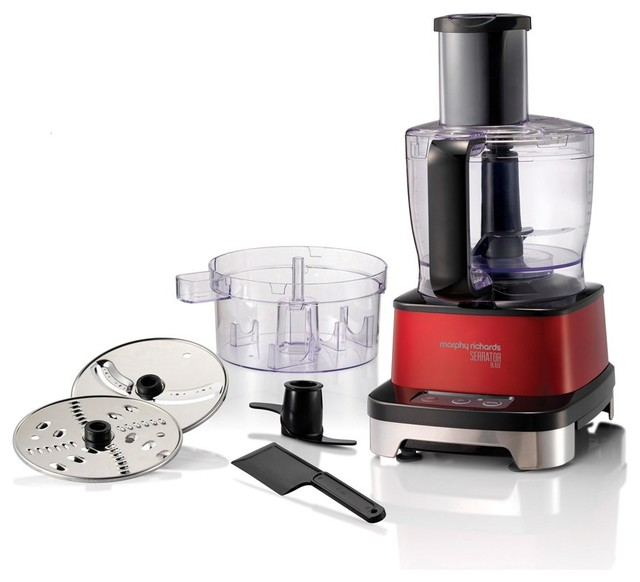 Morphy Richards Food Processor: Induction Food Processor With Serrator Blade