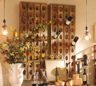 French Wine Bottle Riddling Rack Traditional Wine