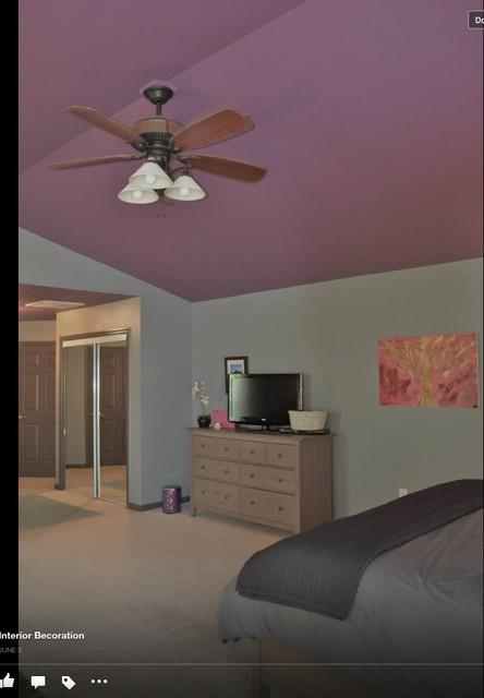 fun sexy master bedroom