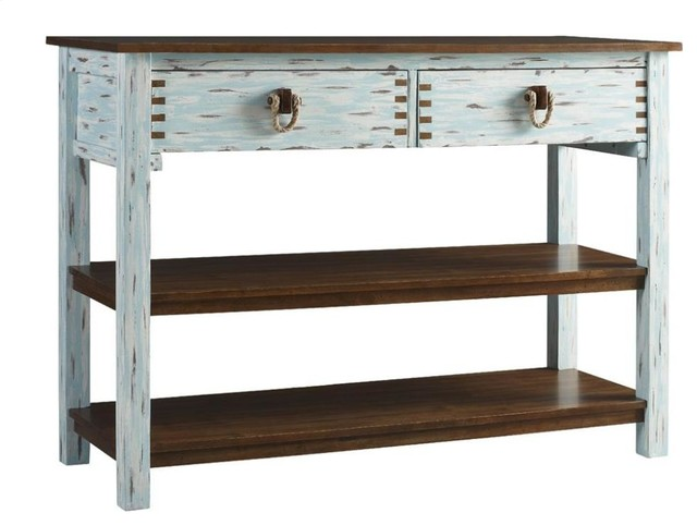 Tamarind Sofa Table Farmhouse Console Tables by Chic Art and Accents