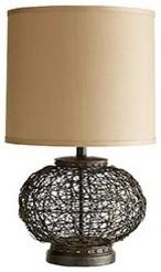 Crazy Weave Lamp