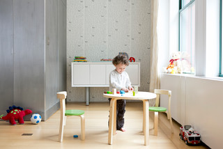 Play with me table chair set modern kids tables and chairs other metro by svan - Svan table and chair set ...